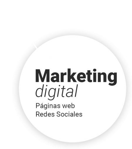 marketing digital, redes sociales y paginas web